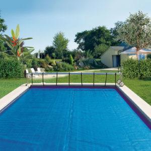 bâche à bulles piscine protection