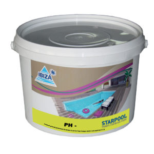 pH- granulés produit entretien piscine longwy