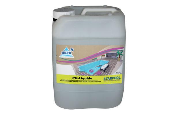 pH- liquide produit entretien piscine longwy